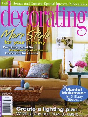 KSDS Press Better Homes & Gardens Decorating, Winter 2008